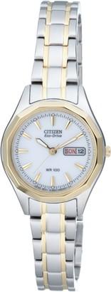 Citizen Women's Quartz Watch with Black Dial Analogue Display Quartz Stainless Steel EW314451AE