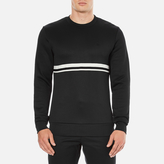 Wood Wood Troy Long Sleeve Sweatshirt Black