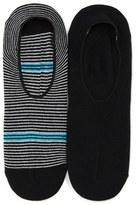 Lorenzo Uomo Men's Assorted 2-Pack No-Show Socks