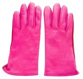 Kate Spade Bi-Color Leather Gloves