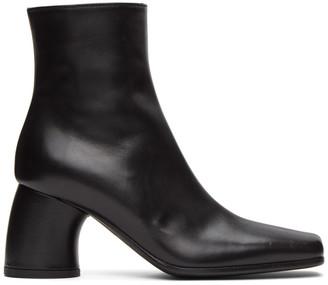 Ann Demeulemeester Black Lavato Heel Boots