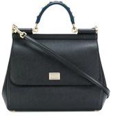 Dolce & Gabbana Dolce E Gabbana Women's Black Leather Handbag.