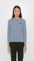 Comme des Garcons Play Striped Long Sleeve