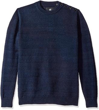 G Star Men's Dadin Indigo R Sweater