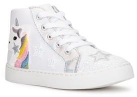 OLIVIA MILLER Big Girls Superstar Sneaker