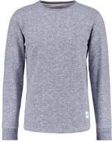 Wemoto Melton Sweatshirt Navyblue Melange