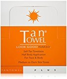TanTowel Tan Towel Self Tan Towelette Plus 50 Count