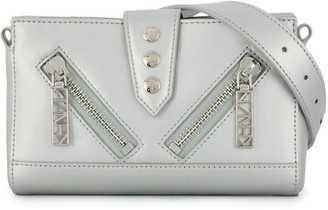 Kenzo Silver Mini Shoulder Bag