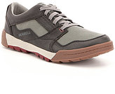Merrell Men's Berner Canvas & Leather Breathable Lace-Up Sneakers