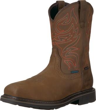 Ariat Work mens Sierra Delta Waterproof Steel Toe Work Boot