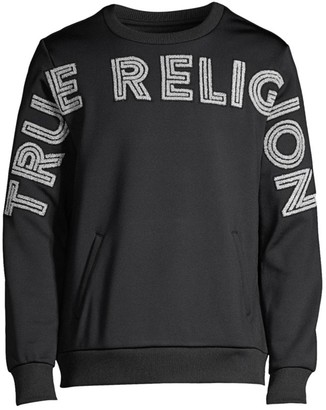 True Religion Long-Sleeve Pullover Crewneck