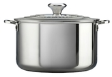Le Creuset 9QT. Stainless Steel Stock Pot with Lid