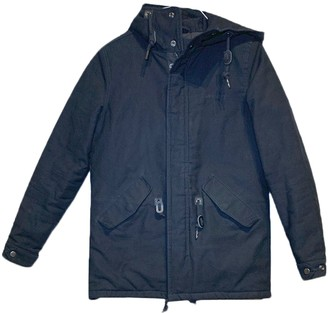 Carhartt Black Cotton Coat for Women