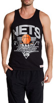 Mitchell & Ness NBA Nets Blank Tank