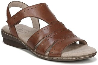 Soul Naturalizer Beacon Ankle Strap Leather Sandal - Wide Width Available