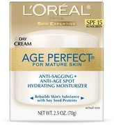 L'Oreal Age Perfect Day Cream SPF 15 2.5 Oz - 2 Pack by Paris