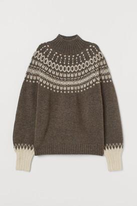 H&M Jacquard-knit Sweater