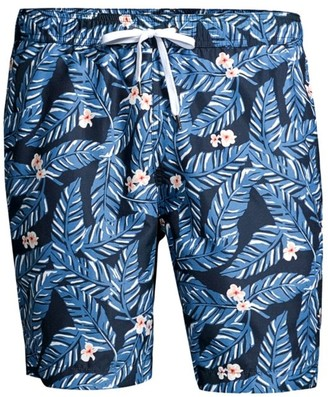 Onia Charles Tropical Leaf Swim Shorts