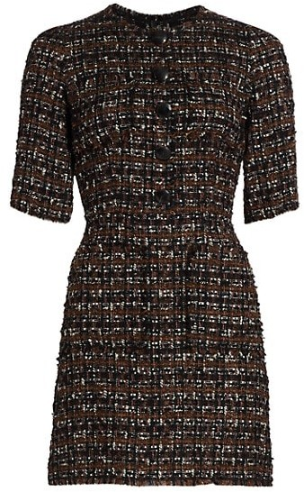 Dolce & Gabbana Tweed Mini Dress
