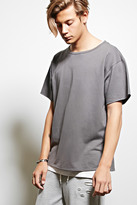 Forever 21 FOREVER 21+ EPTM. Boxy Terry Knit Tee