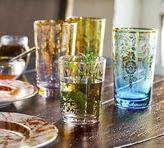 Pottery Barn Moroccan Highball Glass, Set Of 4 - Purple