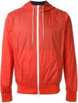 Sun 68 'Rain' hooded zip up jacket - men - Cotton/Polyamide - XXL