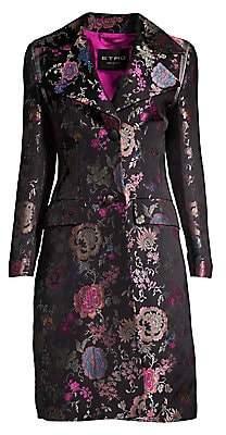 Etro Women's Floral Jacquard Coat