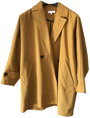 IRO Yellow Cotton Coats