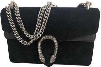 Gucci Dionysus Black Suede Handbags