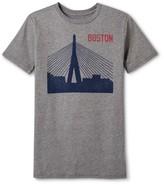 Boston Local Pride by Todd Snyder Men's Boston Bridge Tee - Heather Gray