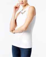 INC International Concepts Cutout Tank Top, Only at Macy's