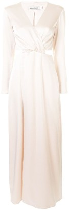 ANNA QUAN Elena cut-out maxi dress