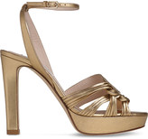 LK Bennett Leighton leather platform sandals