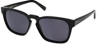 Von Zipper VonZipper Levee Polar (Black Gloss/Wild Vintage Grey Polar) Sport Sunglasses