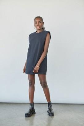 Forever 21 T-Shirt Shoulder Pad Dress