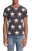 Just Cavalli 'Stardust' Print Cotton T-Shirt