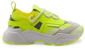 Dolce & Gabbana Neon Sport Sneakers