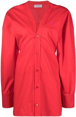 ATTICO Lala mini shirt dress