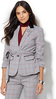New York & Co. 7th Avenue Design Studio - Tie-Waist Jacket - Campfire Red