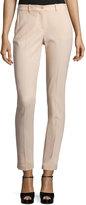 Michael Kors Samantha Wool Serge Skinny Ankle Pants