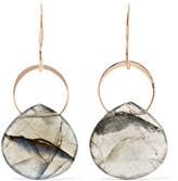 Melissa Joy Manning 14-karat Gold And Labradorite Earrings - one size