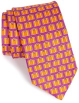 Ted Baker Men's Print Silk Tie