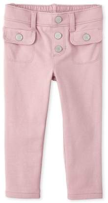 Children's Place The Button Down Pocket Jeggings (Baby Girls & Toddler Girls)