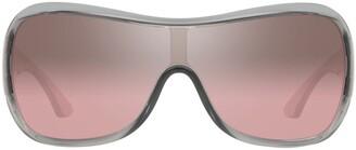 Sarah Jessica Parker X Sunglass Hut round-frame oversized sunglasses