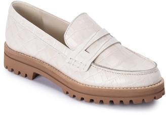 Dolce Vita Aubree Croc Embossed Loafer