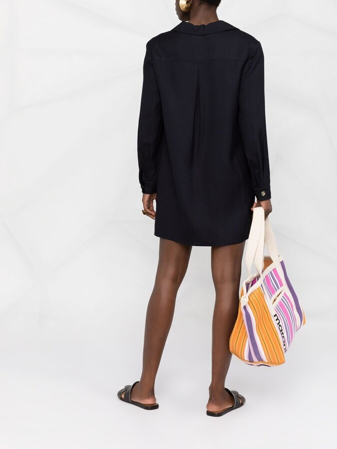 Thumbnail for your product : Etro Decorative Button Shirt Dress