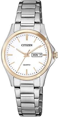 Citizen EQ0596-87A Dress Two Tone Watch