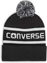 Converse Women's Wordmark Knit Pom Pom Beanie