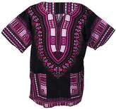 Lofbaz Traditional African Print Unisex Dashiki Ethnic Size XL White