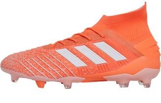 adidas Predator 19.1 FG Firm Ground Boots Hi-Res Coral/Footwear White/Glow Pink